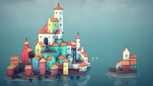 Townscaper: Beliebtes Indie-Aufbauspiel kommt auf die Switch