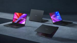 """Studiobook und Vivobook: Asus setzt auf OLED, stets AMD oder Intel und das """"Dial"""""""