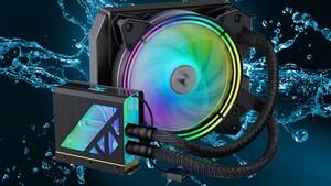 Cardea Liquid II: Team Group bringt SSD mit AiO-Wasserkühler