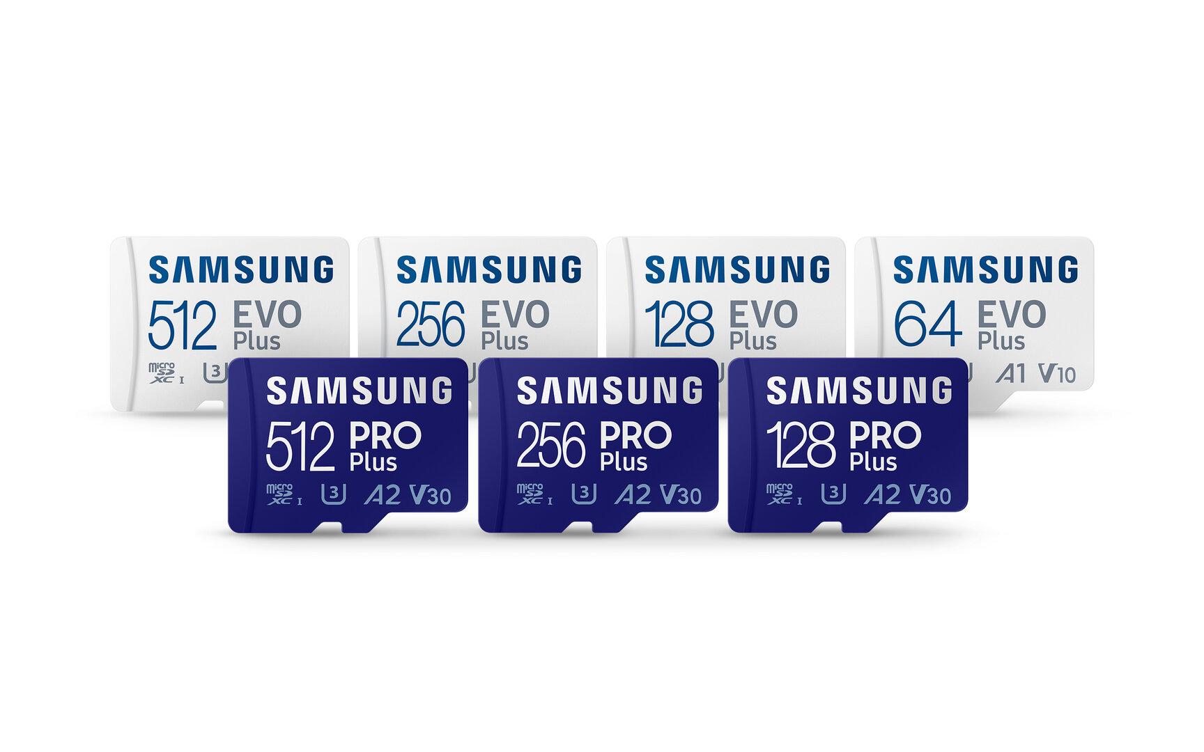 Nowe karty microSD firmy Samsung