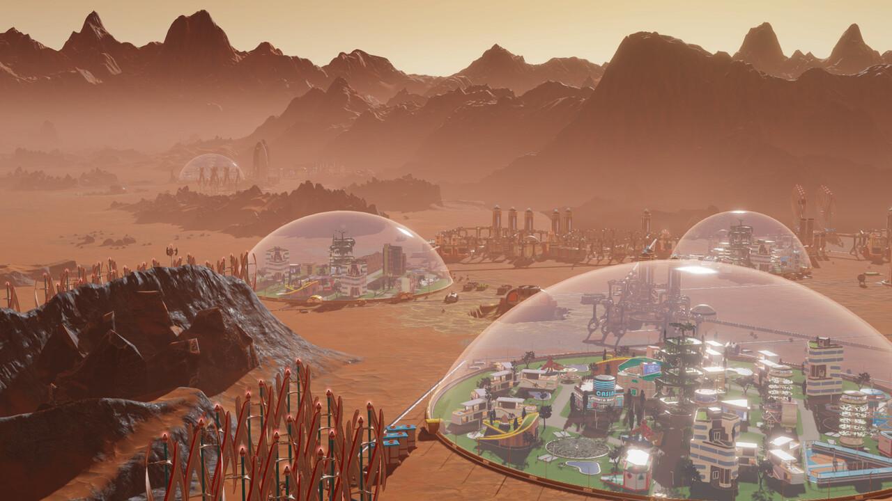 Nur noch bis 19:00 Uhr: Surviving Mars bei Steam kostenlos