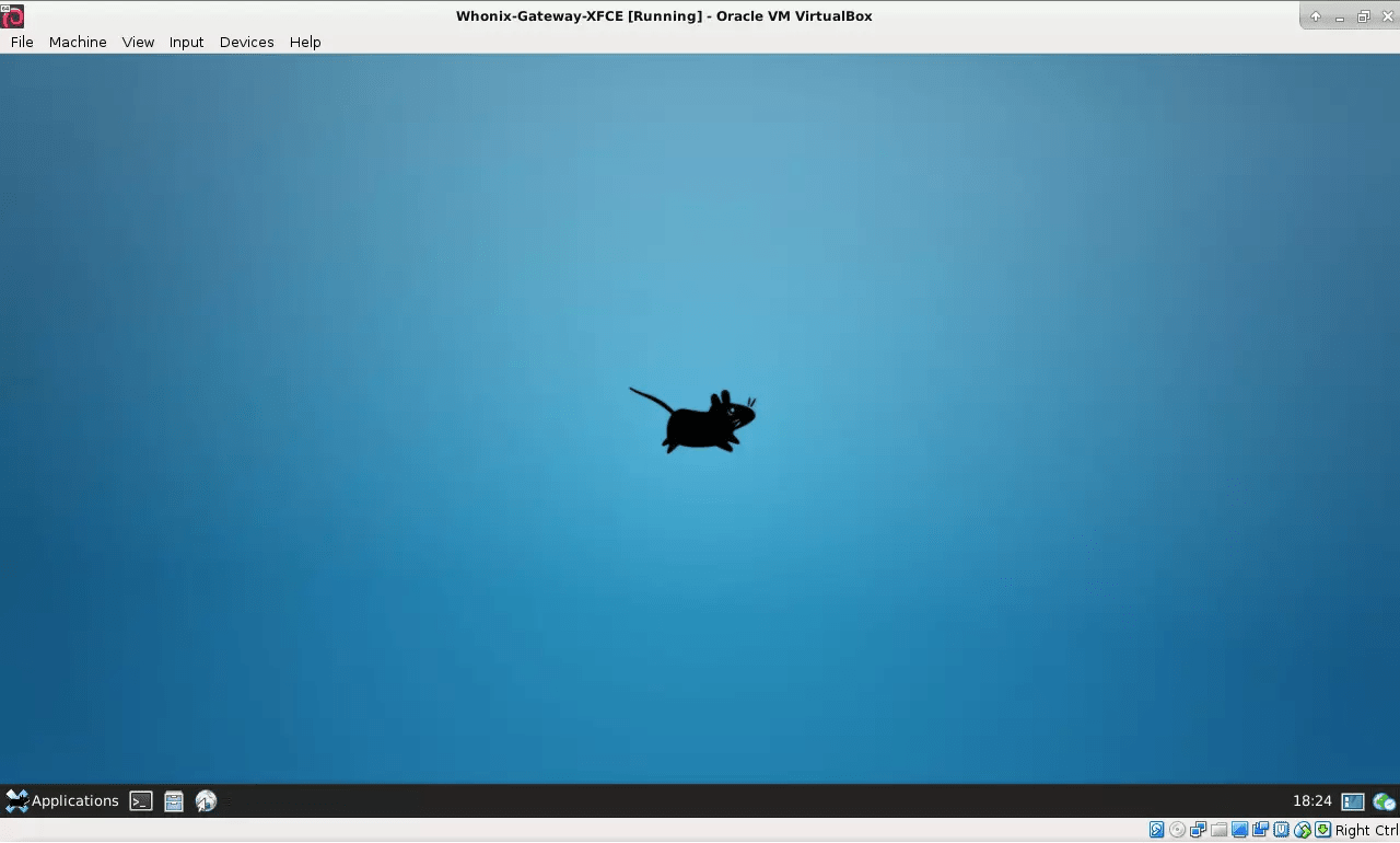 Whonix in VirtualBox unter Windows