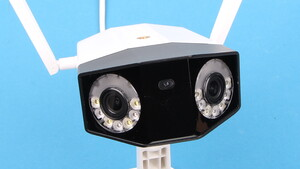 Reolink Duo im Test: 2-Linsen-Kamera sieht viel und speichert lokal