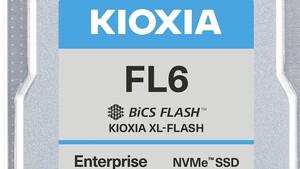 Kioxia FL6: PCIe-4.0-SSDs mit schnellem XL-Flash und 60 DWPD