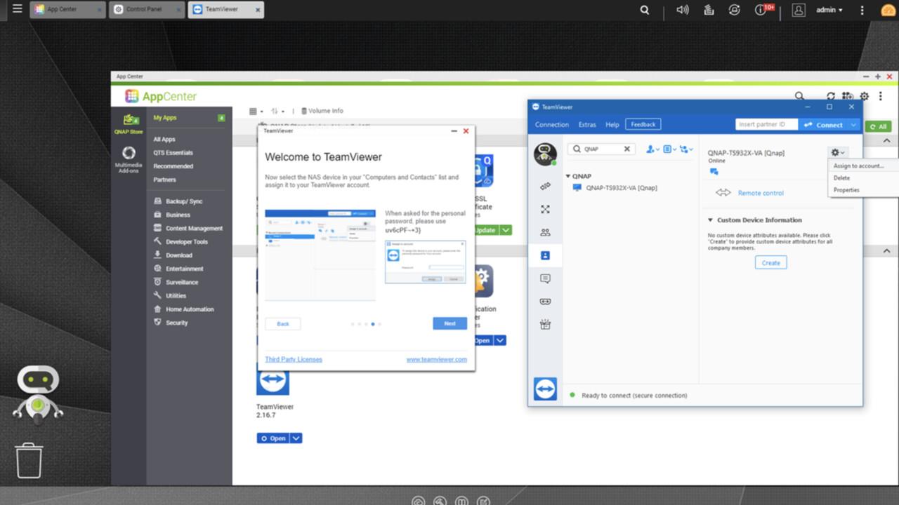 Für x86 und ARM: TeamViewer ermöglicht Fernzugriff auf QNAP NAS