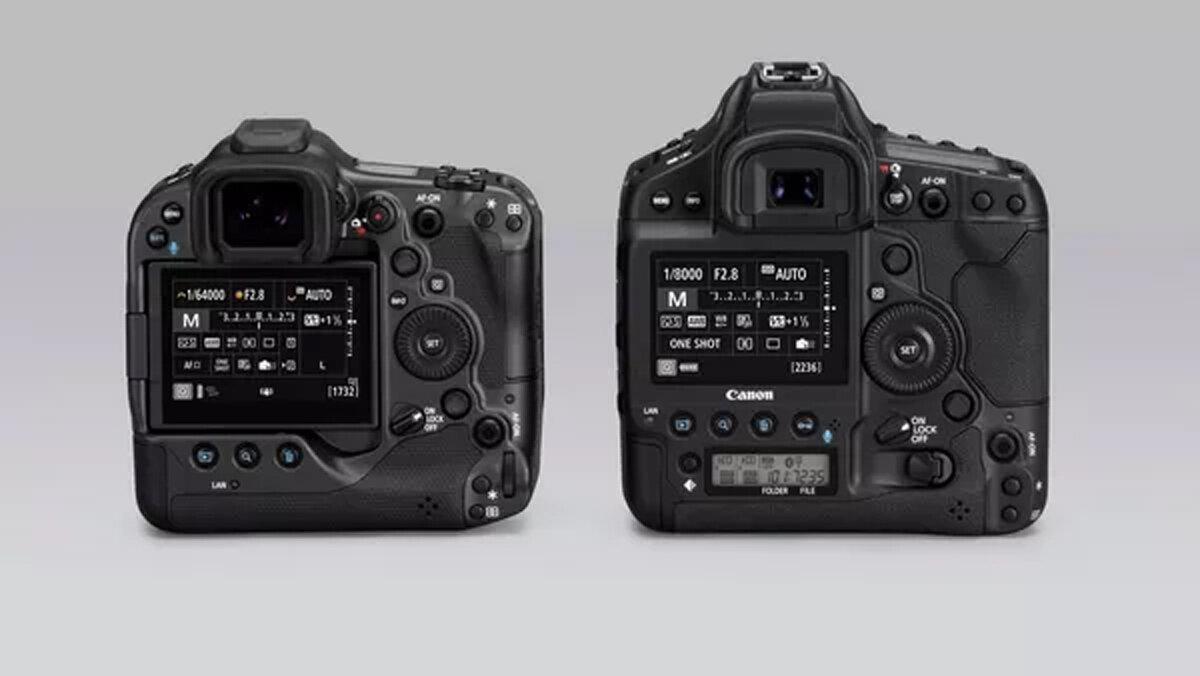Canon EOS R3 und EOS 1D X Mark III