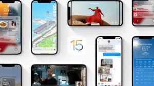 Apple: Updates auf iOS 15, iPadOS 15 & watchOS 8 verfügbar