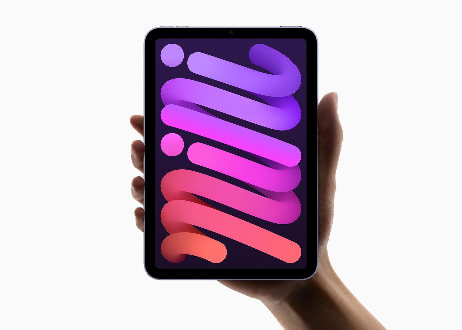 Das neue iPad mini (2021) der 6. Generation mit iPhone-13-SoC