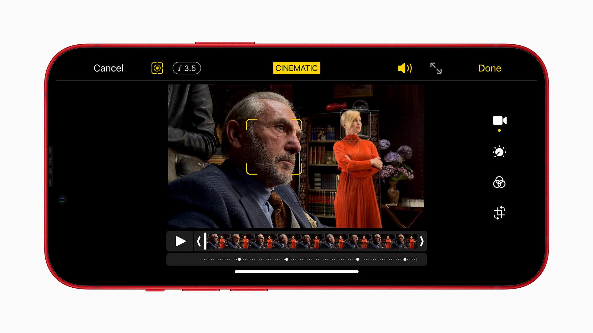 iPhone 13 mini und iPhone 13 – Kinomodus