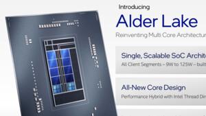 Intel Alder Lake: Core i3-12100T bis i9-12900T mit reduzierter TDP enthüllt