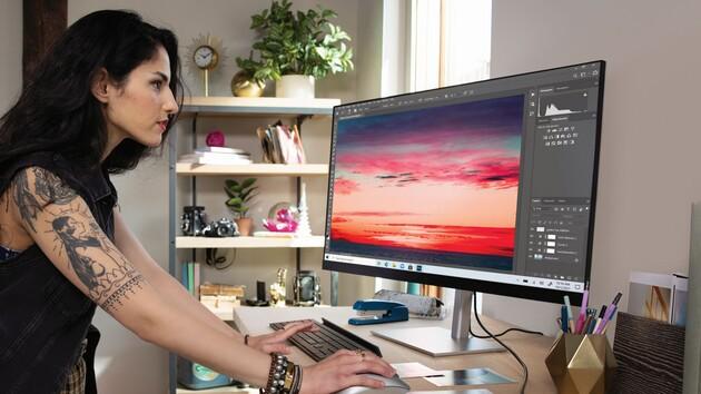 Neue HP-Monitore: Vom eleganten UHD-Modell bis zum gebogenen Arbeitstier