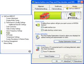 Der Display Optimization-Assistent ist seit der 70er-Serie dabei