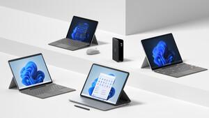 Microsoft: Das sind Surface Pro 8, Laptop Studio, Pro X 2021 und Go 3