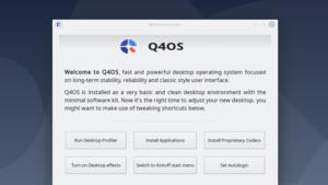 """Q4OS 4.6 """"Gemini"""": Debian-Leichtgewicht mit 5 Jahren Support"""
