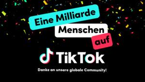 TikTok: Videoportal erreicht eine Milliarde Nutzer