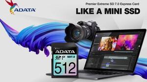 Premier Extreme: Adatas erste SD-Express-Karten haben einen Namen