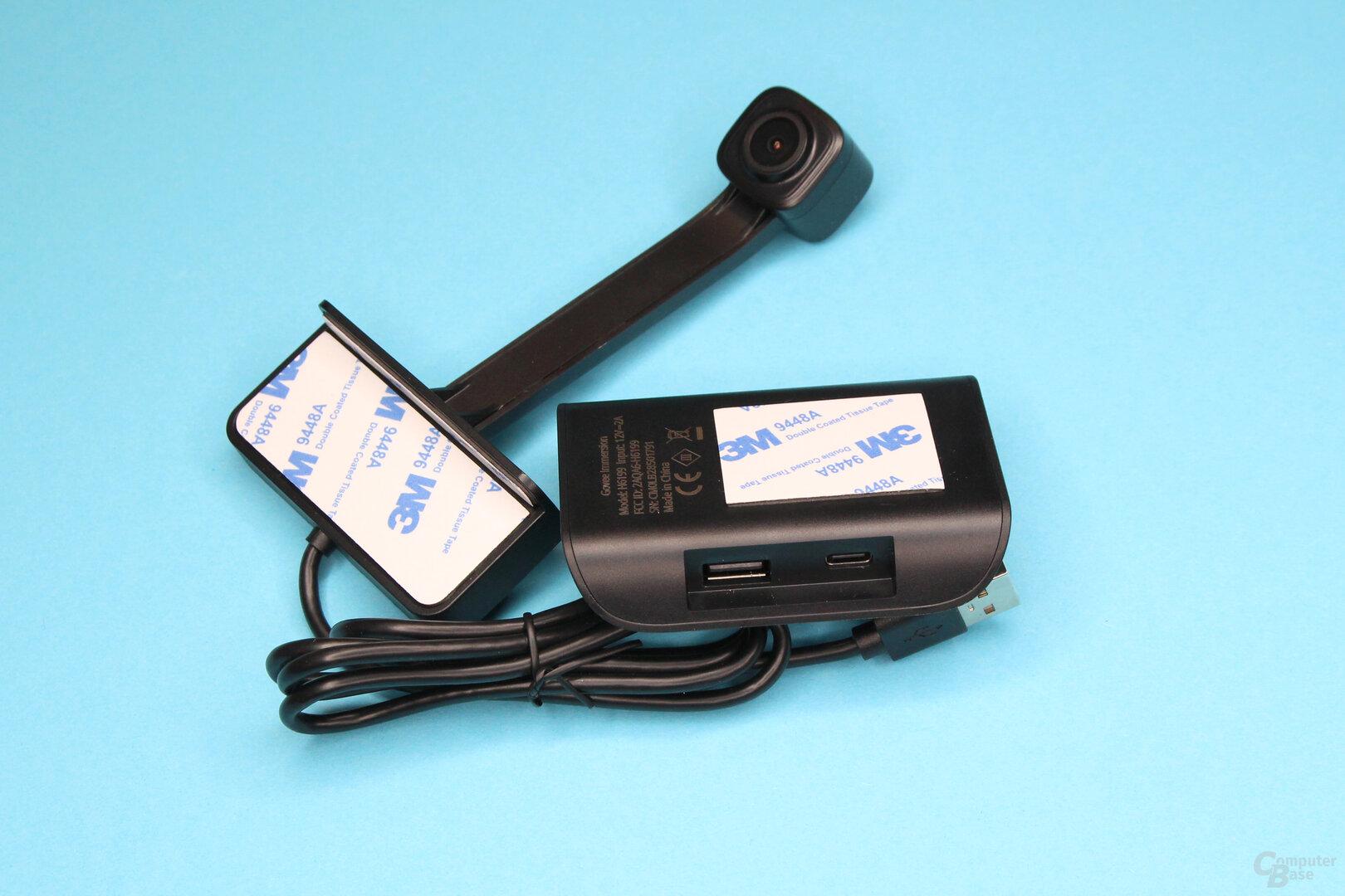 Kamera und Control Box von Govee