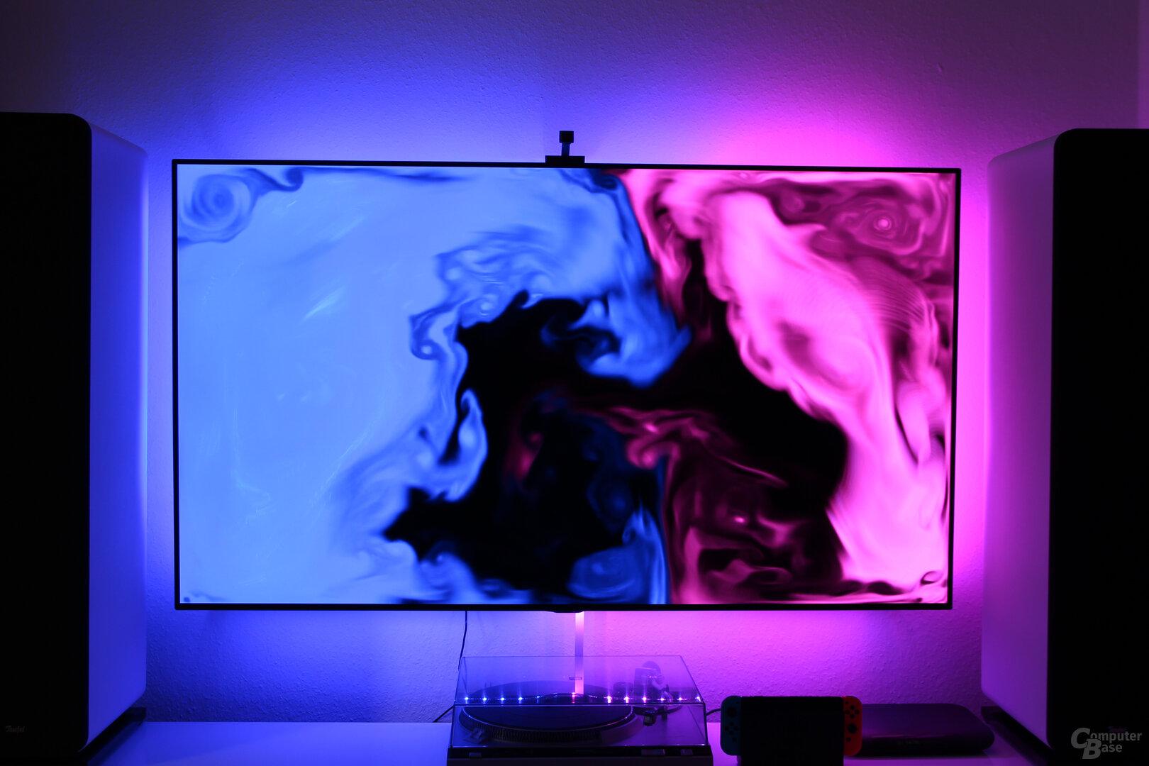 Lichteffekte des Govee Immersion LED Strip