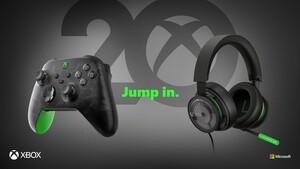 20Jahre Xbox: Xbox-Controller und Headset in Anniversary Special Edition