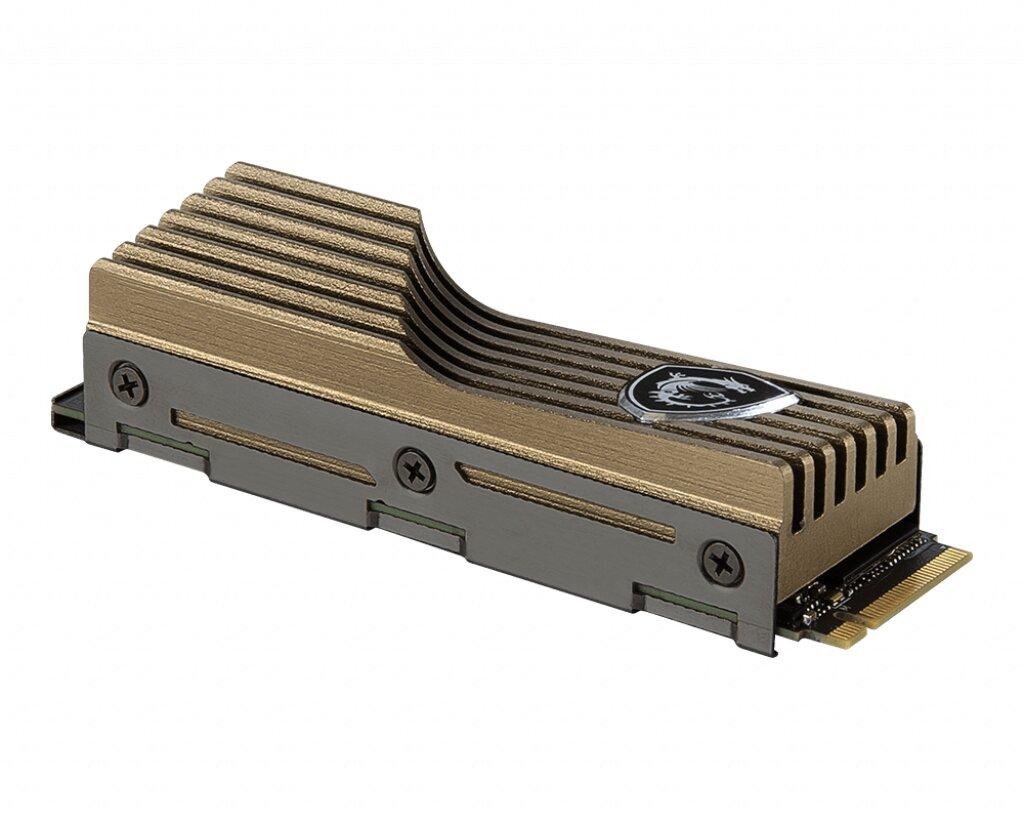 MSI Spatium M480 mit Kühler