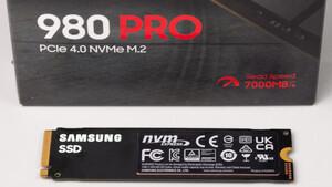 980 Pro mit Heatsink: Samsungs SSD-Flaggschiff bekommt Kühler für die PS5