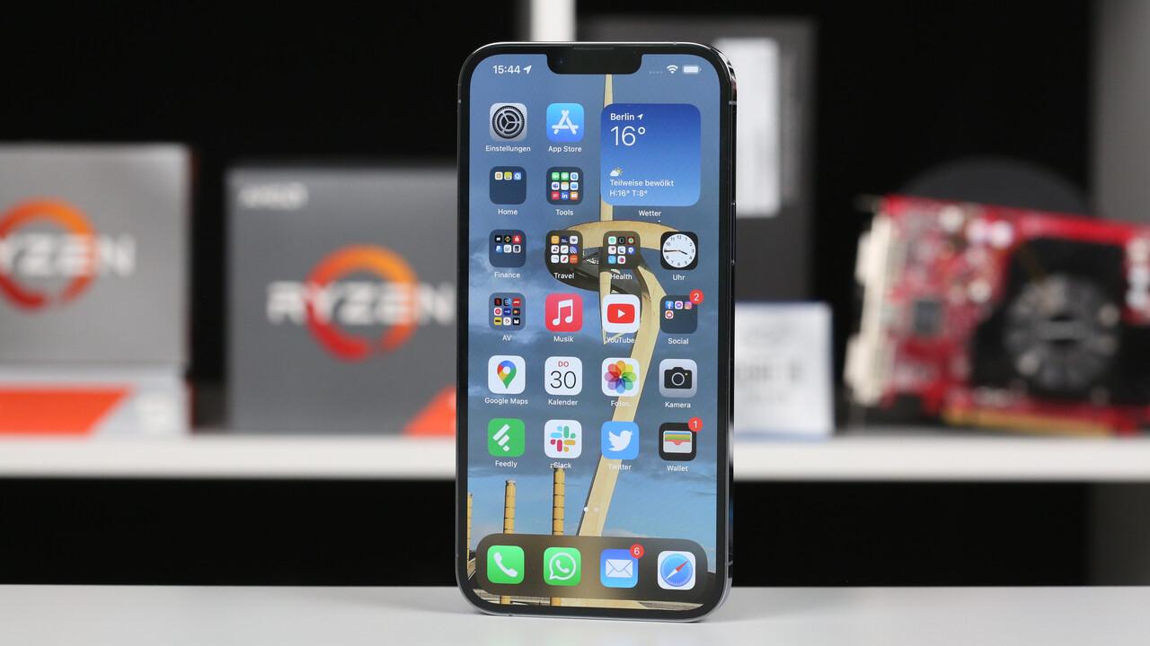 Apple iPhone 13 Pro Max im Test – Der Marathonläufer: A15 Bionic mit 5-Core-GPU und Akkulaufzeit