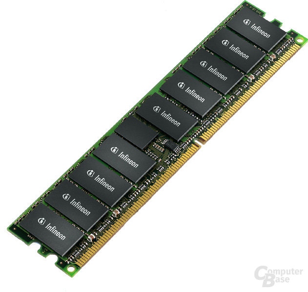 Infineon 4 GB Registered DDR2-Modul