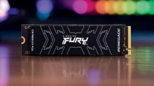 Kingston Fury Renegade: M.2-SSD mit 7,3 GB/s und bis zu 4 TB Speicherplatz