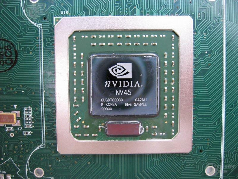 NV45-Chip - NV40 mit HSI-Bridge