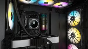 Corsair iCUE Elite LCD: Luxus-AiO-Kühler mit LC-Display für animierte Bilder
