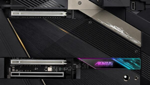 Gigabyte Z690 Aorus Extreme: Tarnkappenbomber im E-ATX-Format versteckt DDR5-DIMMs