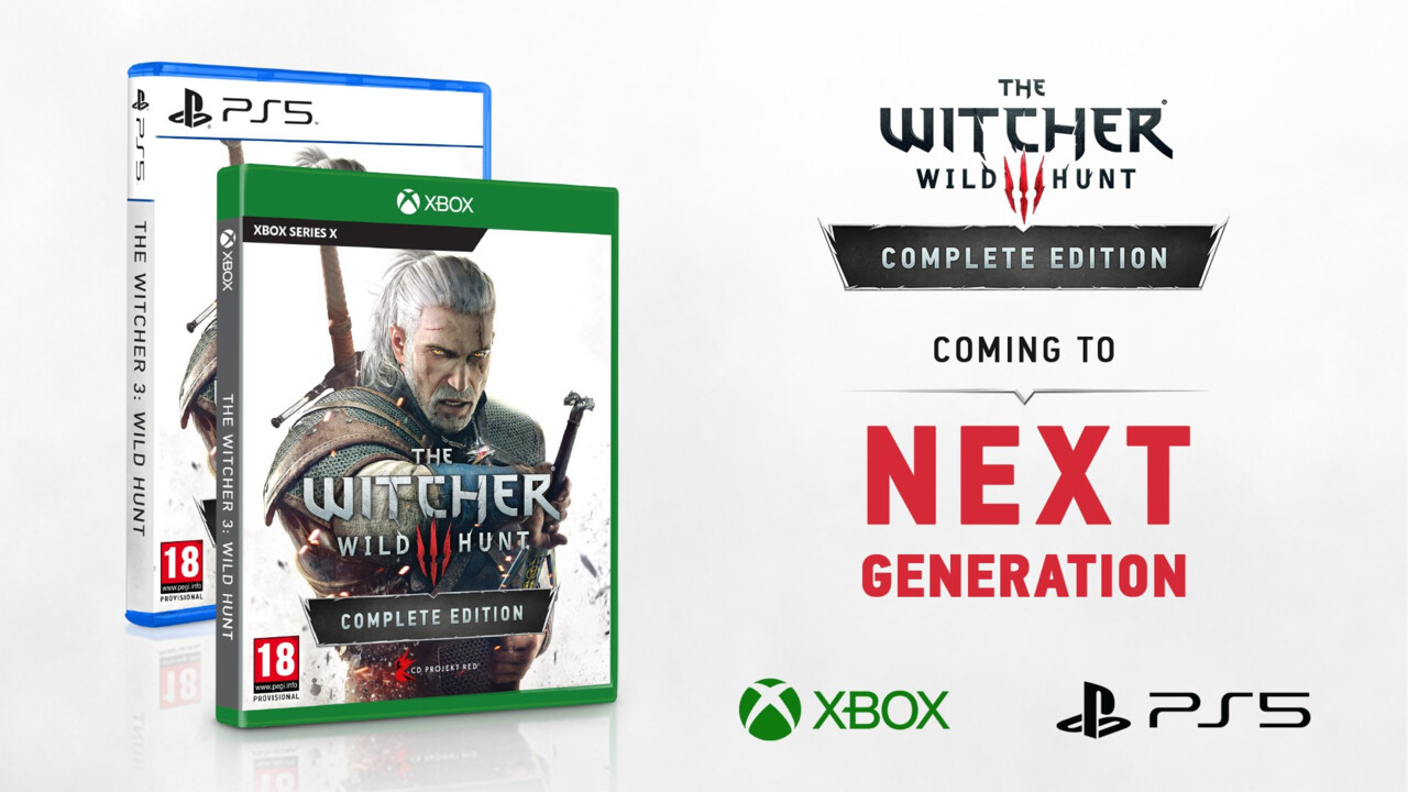 Next-Gen-Updates: The Witcher 3 und Cyberpunk 2077 werden erst 2022 fertig