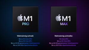MacBook Pro mit M1 Max: High Power Mode in macOS Monterey aufgespürt