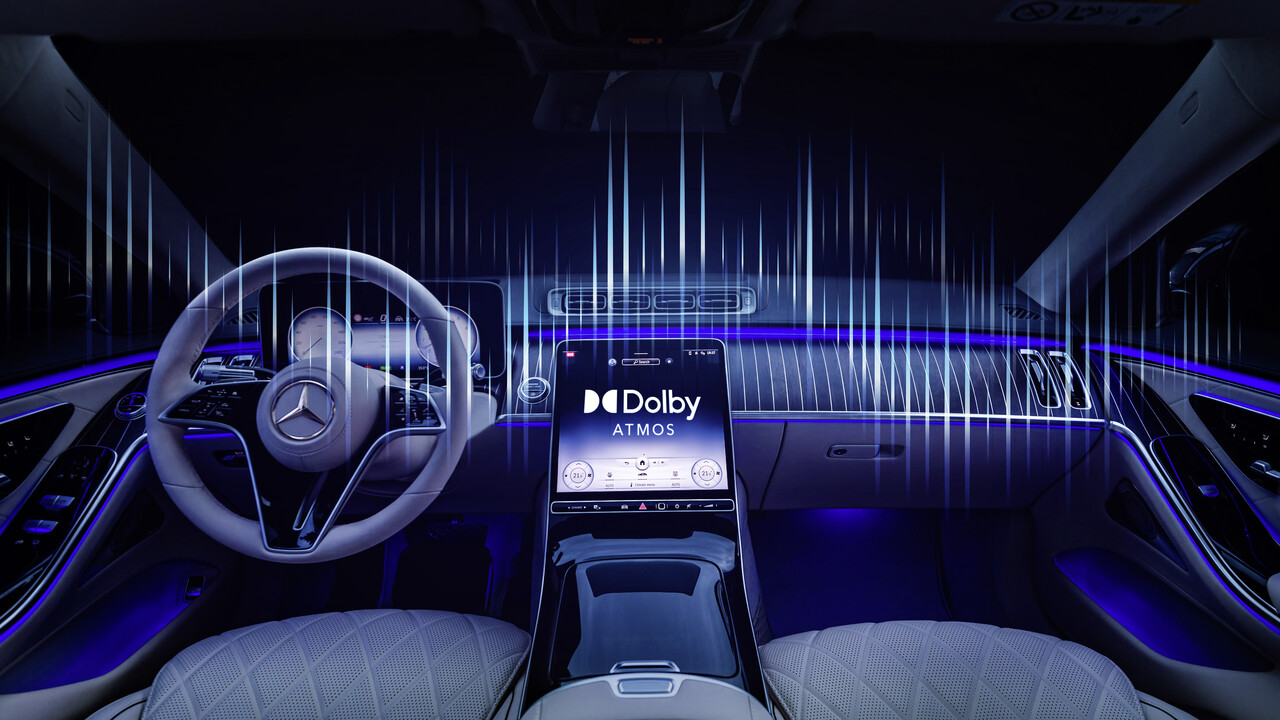 Raumklang: Mercedes-Benz bringt Dolby Atmos ins Auto