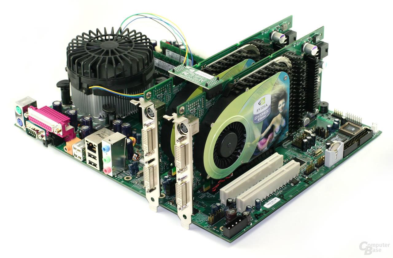 nVidia nForce 4 SLI Intel Edition