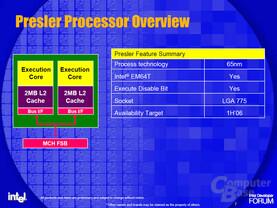 Dual Core Presler