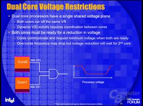 Dual Core und die Prozessorspannung