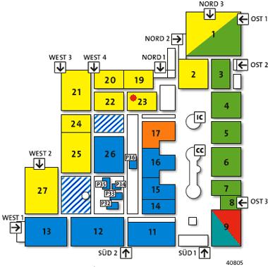 Hallenplan CeBIT 2005
