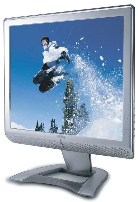 Asus LCD Monitor Aristo PM 17T