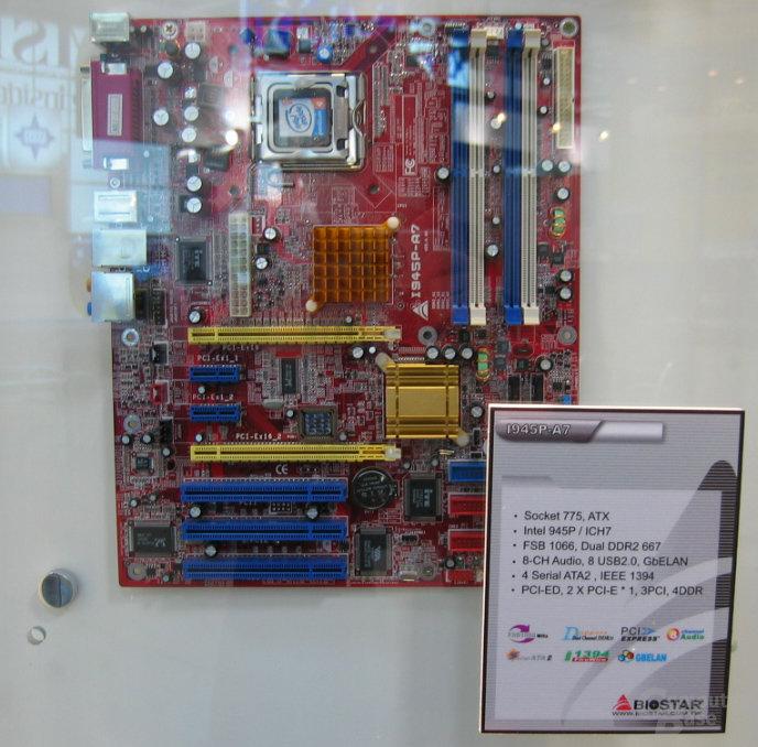 BioStar I945P-A7