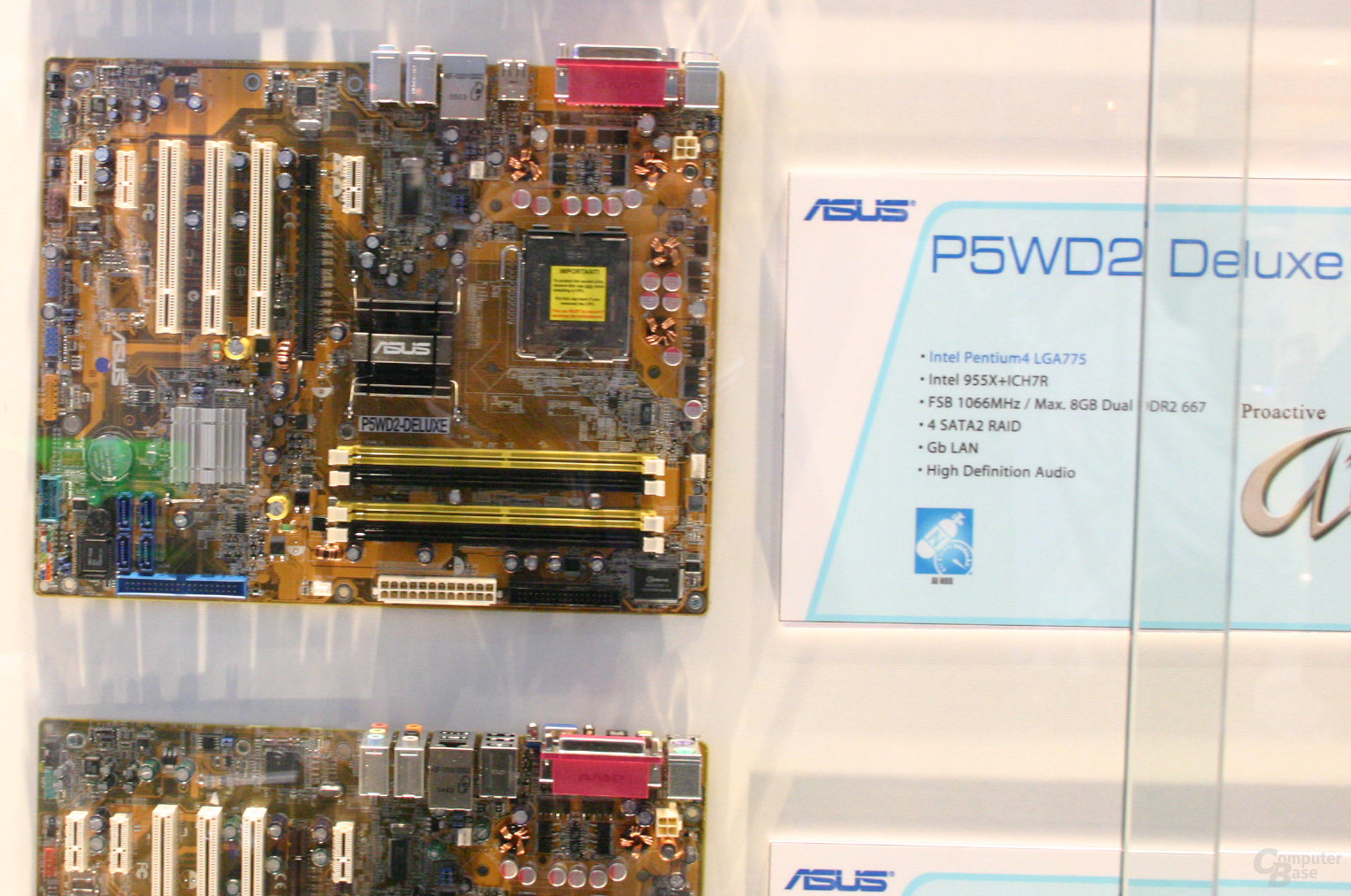 Asus P5WD2 Deluxe