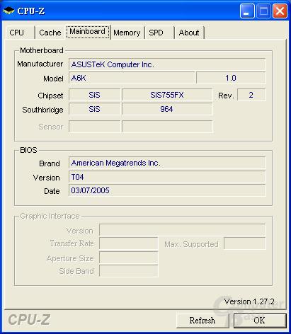 AMD Turion mit SiS755FX
