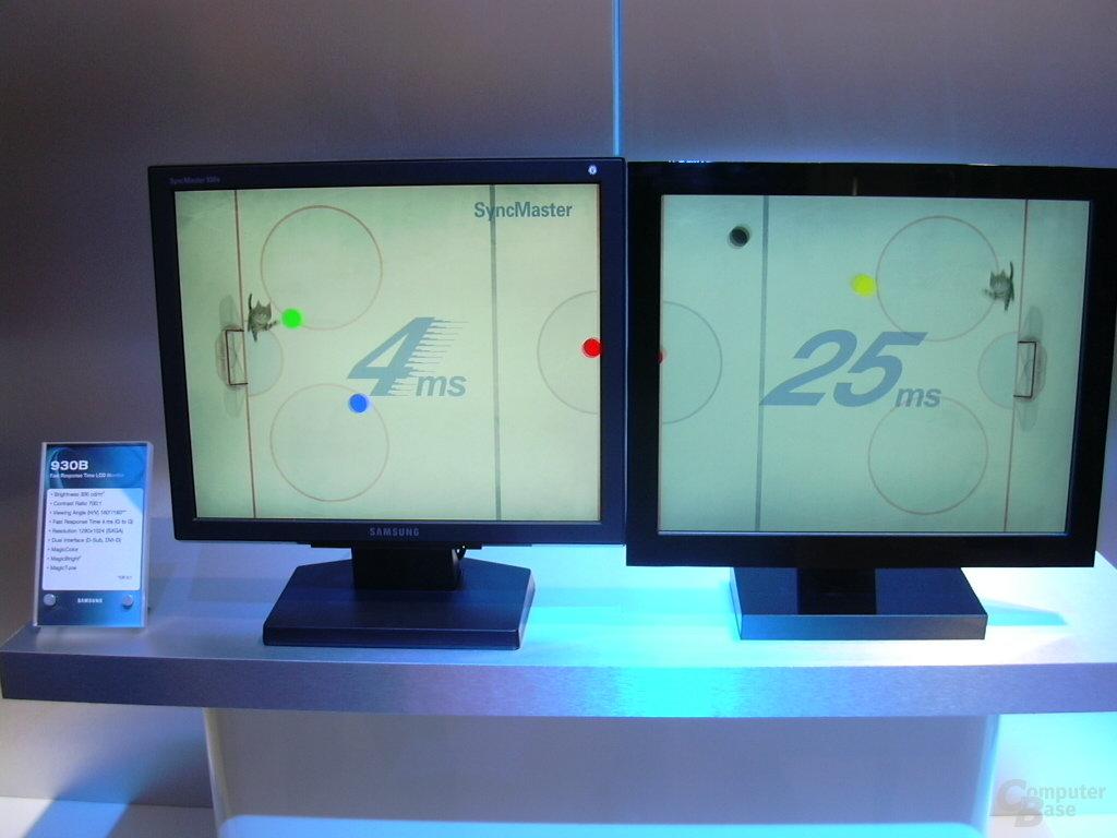 Samsung SyncMaster 930B im Vergleich