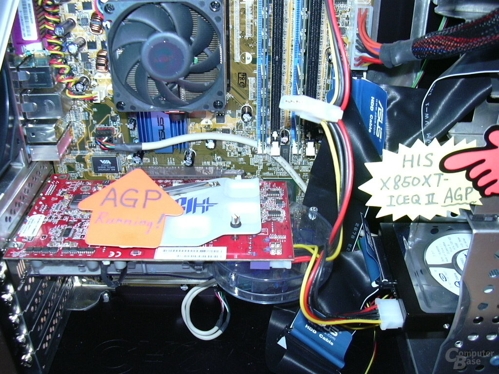 X850 IceQ II Turbo AGP in Aktion