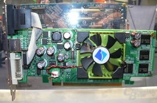 GeForce 6600 mit BGA-Speicher