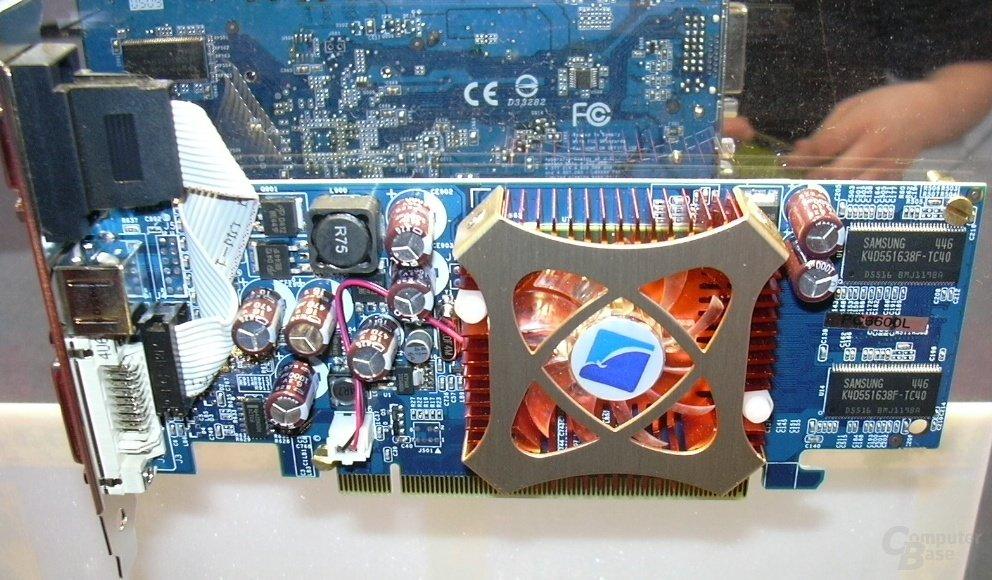 GeForce 6600 mit TSOP-II RAM