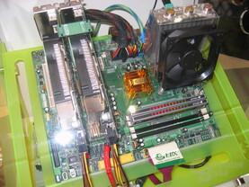 EPoX SLI-Board für Intel