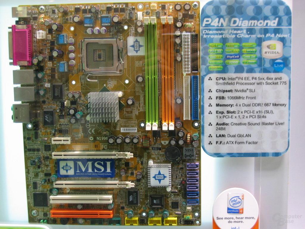 MSI SLI-Board für Intel