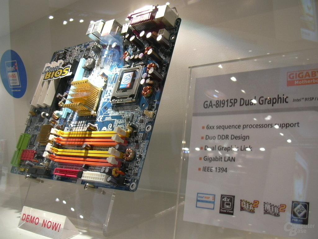 Gigabyte SLI-Board für Intel