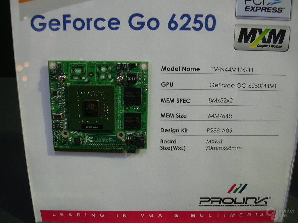 GeForce Go 6250